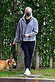 joe jonas sophie turner monday dog walk 03
