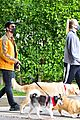 joe jonas sophie turner monday dog walk 27