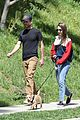 Photo 6 of Lily Collins & Boyfriend Charlie McDowell Take Their Pup for a Walk Amid Quarantine