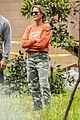robin wright clement giraudet walk april 2020 03