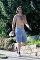 brad falchuk goes for shirtless run 01