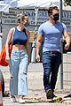 brie larson boyfriend elijah allan blitz trip to farmers market 13