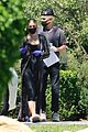 ashlee simpson evan ross wear mask gloves while house hunting 03