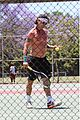 gavin rossdale goes shirtless playing tennis 25