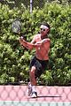 gavin rossdale goes shirtless playing tennis 38