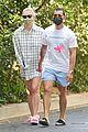 sophie turner wears oversized shirt on walk with joe jonas 07