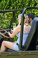 sophie turner wears form fitting dress out on drive with joe jonas 19