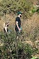 ashley benson g eazy hold hands hiking in the hills 26