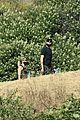 ashley benson g eazy hold hands hiking in the hills 30