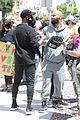 common runs into chris paul at la protests 01