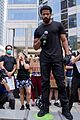 michael b jordan speech at black lives matter protest 23