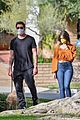 dylan mcdermott walks his dog with model erica souza 07