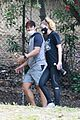 ellen pompeo giacomo gianniotti go for a hike 02