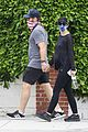 chris pratt stroll with katherine schwarzenegger 02
