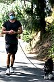 chace crawford puts bulging biceps on display while walking his dog 05