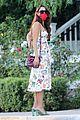 eiza gonzalez cute dress at bungalows 01