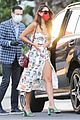 eiza gonzalez cute dress at bungalows 03