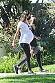 lea michele thursday walk with her mom 01