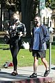 pregnant sophie turner at park with joe jonas family 09