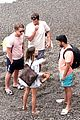 emilia clarke vacation with friends 43