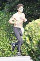 shia labeouf shirtless jog 14