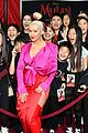 christina aguilera at the mulan premiere 11