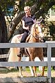 amber heard spends the afternoon horseback riding 05