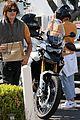 diane kruger norman reedus motorcycle ride while shopping 01