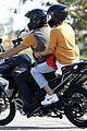 diane kruger norman reedus motorcycle ride while shopping 02