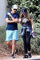 rob lowe maria shriver go for a walk 23