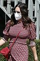 mandy moore couldnt watch debate tiny bump red dress 03