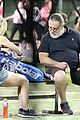 russell crowe britney theriot tennis match 47