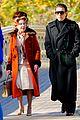 ewan mcgregor kelly bishop go for a stroll filming simply halston 01