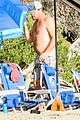 leonardo dicaprio at beach with emile hirsch 50