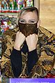 princess charlene monaco shaved half head gift distribution 14