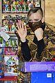 princess charlene monaco shaved half head gift distribution 38