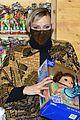 princess charlene monaco shaved half head gift distribution 42