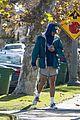 jacob elordi short shorts workout with kaia gerber 15