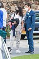 harry styles looks dapper in two suits on dont worry darling set in palm springs 34