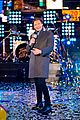 ryan seacrest lucy hale billy porter in times square 05