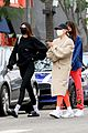 kendall jenner hailey bieber joan smalls lunch workout 35