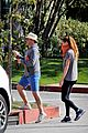 jon hamm anna osceola take his dog for afternoon walk 07