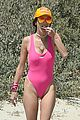 alessandra ambrosio richard lee touch tongues beach day 107