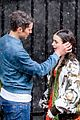 lily collins caught in rain with lucas bravo emily in paris 10