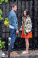 lily collins caught in rain with lucas bravo emily in paris 14
