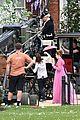 phoebe dynevor filming bridgerton 87