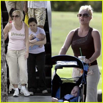 Britney Spears Stroller