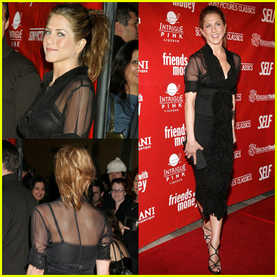 Jennifer Aniston Stays Classic In Black