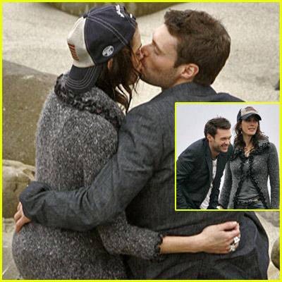 Ryan Seacrest Teri Katcher Kissing