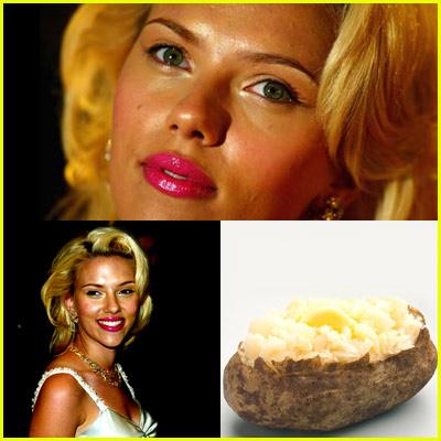 Scarlett Johansson Baked Potato